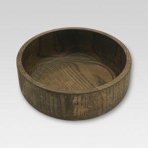 Threshold Target Ash Wood Serving Bowl